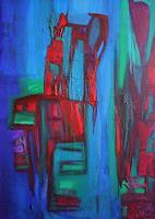 Gisela-Zimmermann-Abstraktes-Fantasie-Moderne-Abstrakte-Kunst