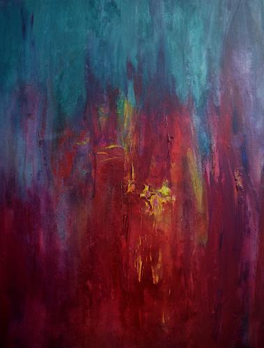 Gisela Zimmermann, Everything Moves II, Abstraktes, Fantasie