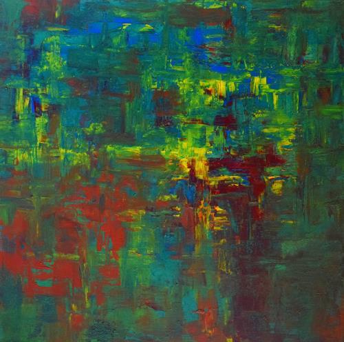 Gisela Zimmermann, Excursion into Nature, Abstraktes, Abstraktes, Abstrakte Kunst