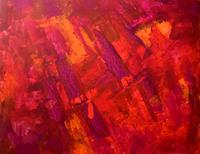 Gisela-Zimmermann-Fantasie-Moderne-Abstrakte-Kunst-Informel