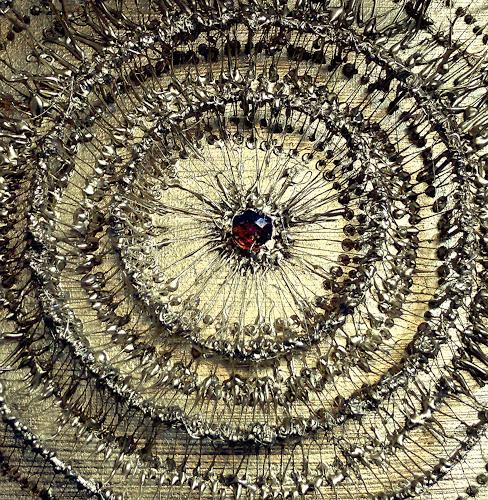 Marian Zaic, Werk 052 Detail, Abstraktes, Gegenwartskunst