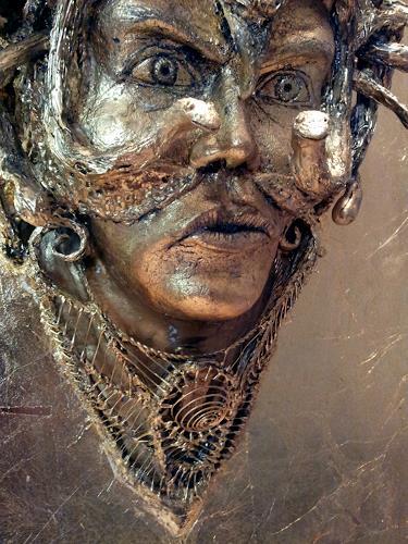 Marian Zaic, Werk 131, Mythologie, Gegenwartskunst, Abstrakter Expressionismus