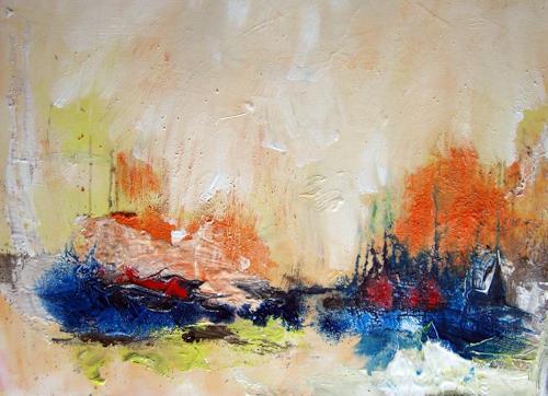 Kerstin Sigwart, am Wasser, Abstraktes, Abstrakte Kunst