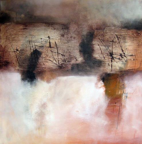Kerstin Sigwart, the wall, Abstraktes, Informel, Abstrakter Expressionismus