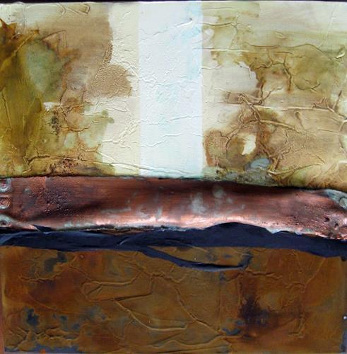 Kerstin Sigwart, Kupferfluß, Abstraktes, Abstrakte Kunst, Abstrakter Expressionismus