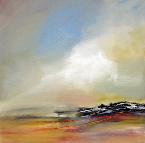 Kerstin Sigwart, Landschaft 1, Abstraktes, Abstrakte Kunst, Expressionismus