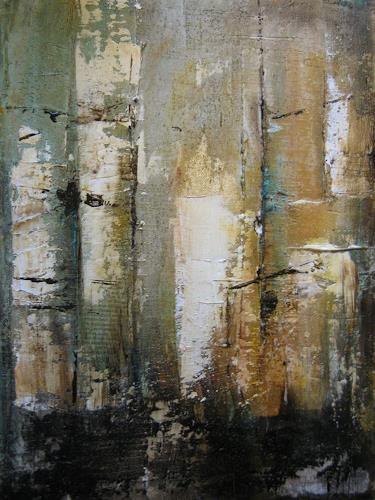 Kerstin Sigwart, Birkenwäldchen, Natur: Wald, Gegenwartskunst