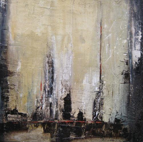 Kerstin Sigwart, Brücke überm Fluß, Abstraktes, Gegenwartskunst