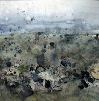 K. Sigwart, Mauer in der Ebene