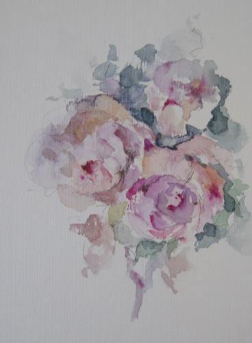 Kerstin Sigwart, wahre Liebe, Pflanzen: Blumen, Abstrakte Kunst