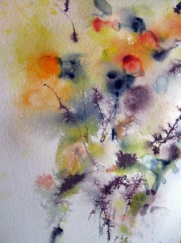 Kerstin Sigwart, stumme Zeugen des Frühlings, Pflanzen: Blumen, Gegenwartskunst