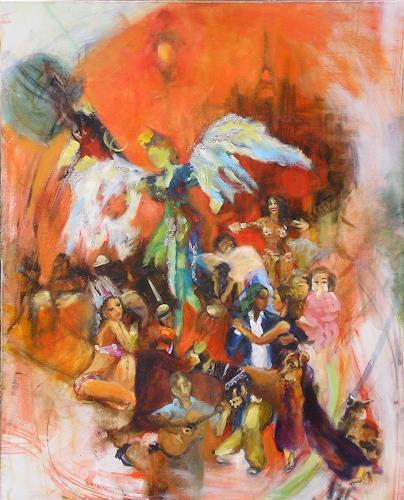 Archenault Claire, esperando1, Karneval, Gegenwartskunst