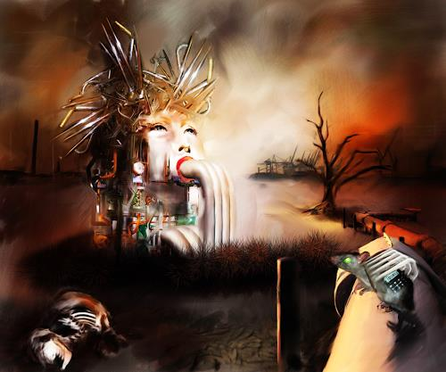 Michael Külbel, industrial, Skurril, Industrie, Surrealismus, Abstrakter Expressionismus