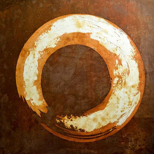 "Michael Külbel, ""rust art #7″ 50×50 cm, Wohnen: Industrie, Industrie, Moderne, Abstrakter Expressionismus"
