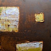 "M. Külbel, ""rust art #5″ 50×50 cm"