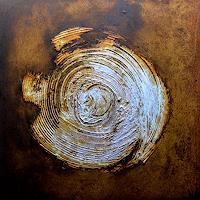 "M. Külbel, ""rust art #2″ 50×50 cm"