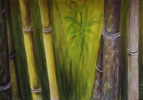 Amigold, Bamboo III, Diverse Pflanzen