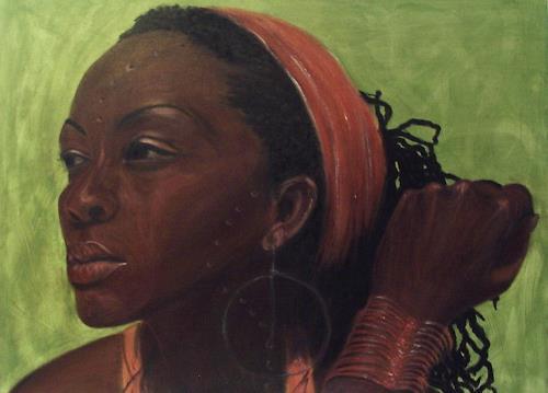 Amigold, Amana, Menschen: Porträt, Abstrakte Kunst