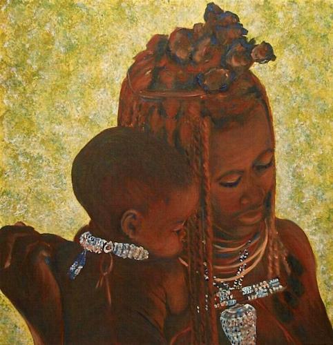 Amigold, Madre Himba, Menschen: Frau, Gefühle: Liebe