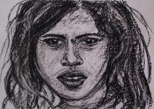 Amigold, Indian Girl III K, Menschen: Porträt