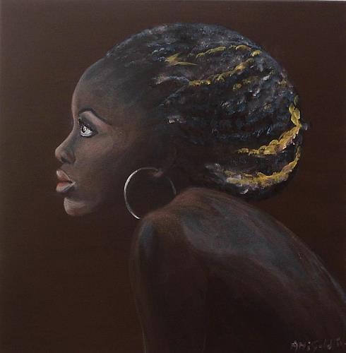 Amigold, Saba, Menschen: Porträt, Expressionismus