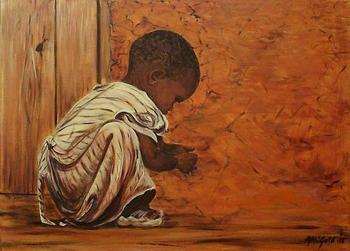 Amigold, Childhood in Africa, Menschen: Kinder