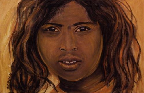 Amigold, Indian Girl III, Menschen: Porträt