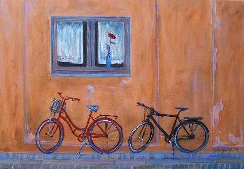 Amigold, Beim roten Haus..., Diverse Romantik, Abstrakte Kunst