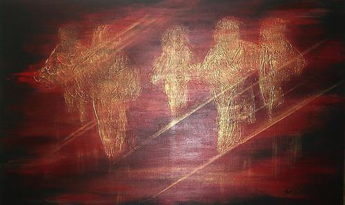 Amigold, Angels, Abstraktes