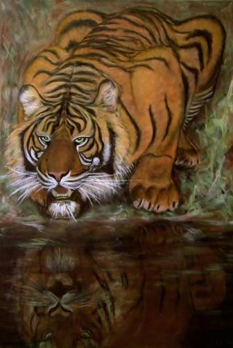 Amigold, Sumatratiger, Tiere: Land