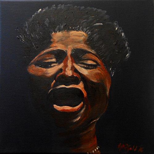 Amigold, Mahalia Jackson, Menschen: Porträt