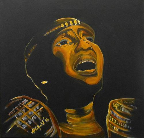 Amigold, Miriam Makeba, Menschen: Porträt