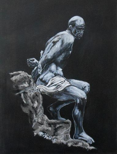 Amigold, Cover, Menschen: Mann, Abstrakter Expressionismus