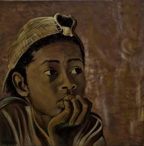 Amigold, Nachdenklich, Menschen: Porträt, Menschen: Kinder