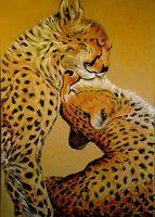 Amigold-Tiere-Land-Moderne-Impressionismus-Postimpressionismus