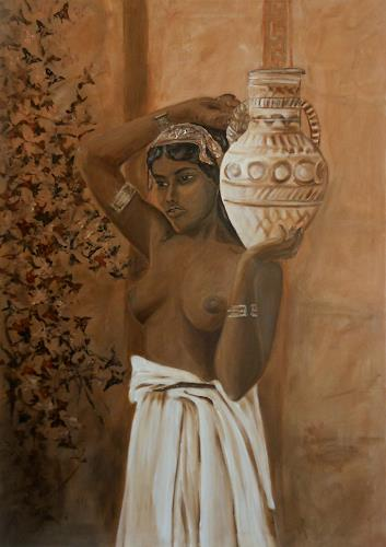 Amigold, la Sulammita, Menschen: Frau