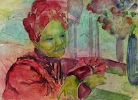 Amigold, Am Fenster