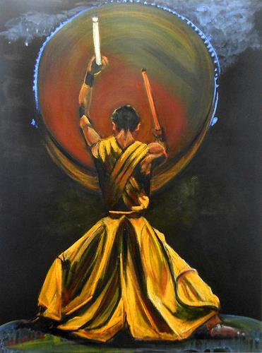 Amigold, la potenza del suono, Menschen, Menschen: Mann, Abstrakte Kunst