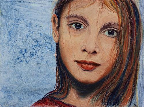 Amigold, Dezembermädchen, Menschen: Porträt, Expressionismus