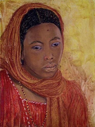Amigold, Junge Tuaregfau, Menschen: Porträt