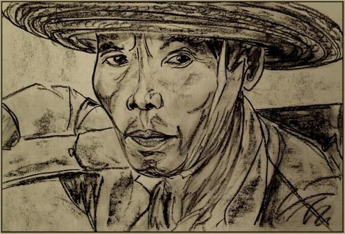 Amigold, Abfallsammler /China, Menschen: Porträt