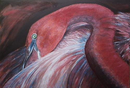 Amigold, Flamingo I, Tiere: Luft