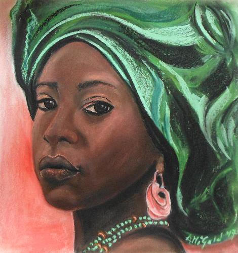 Amigold, wenn Augen sprechen, Menschen: Porträt, Gegenwartskunst