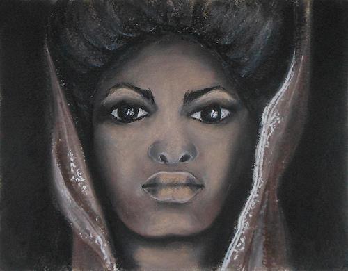 Amigold, Königin Afrikas, Menschen: Porträt, Gegenwartskunst