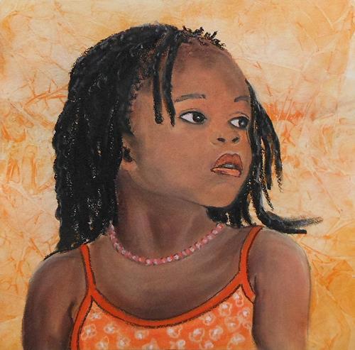Amigold, Schau weg, Menschen: Porträt, Gegenwartskunst