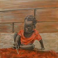 Amigold-Menschen-Kinder-Gegenwartskunst-Gegenwartskunst