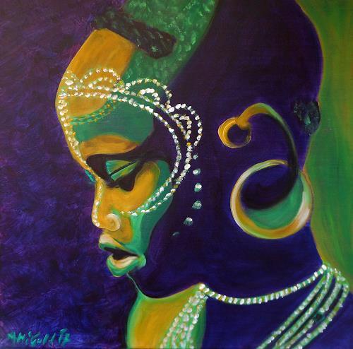 Amigold, Nachdenklich, Menschen: Porträt, Menschen: Kinder, Gegenwartskunst