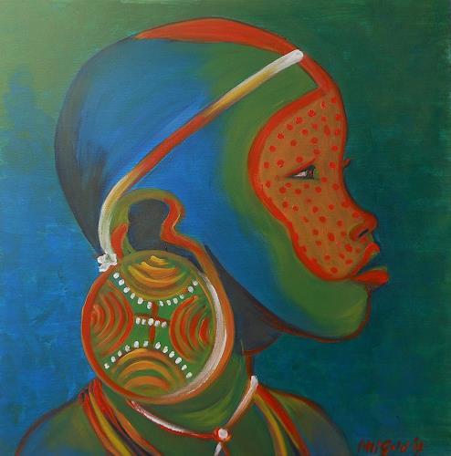 Amigold, Identità, Menschen: Kinder, Menschen: Porträt, Gegenwartskunst, Abstrakter Expressionismus