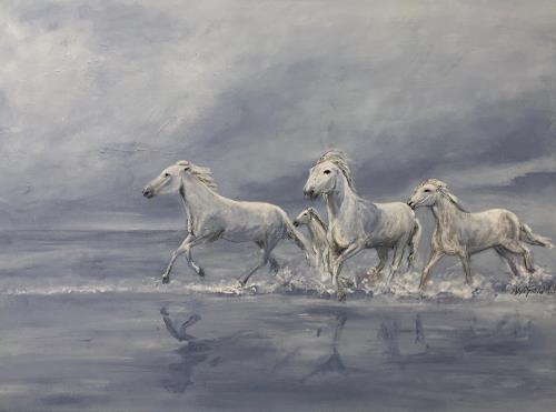 Amigold, Im Traum, Tiere: Land, Tiere: Wasser, Gegenwartskunst, Expressionismus