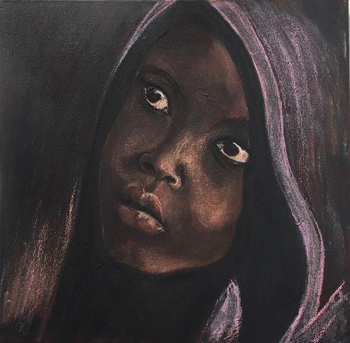 Amigold, Sguardo, Menschen: Porträt, Gegenwartskunst, Expressionismus